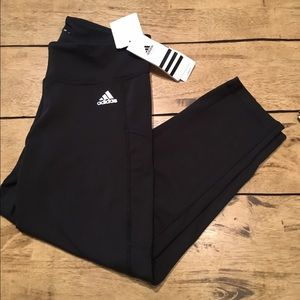 Adidas Crop Pants -brand new with tags