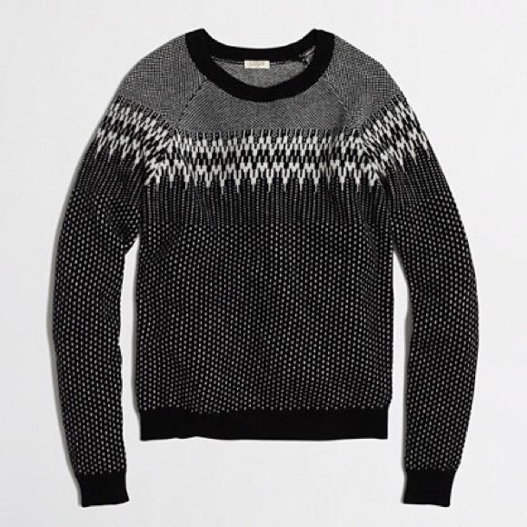 80% off J. Crew Sweaters - J.Crew Merino Fair Isle Sweater from ...