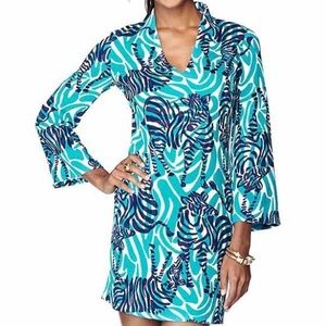 """Lilly Pulitzer Dresses & Skirts - Lilly Pulitzer Devina """"I'm Game"""" Tunic Shift Dress"""