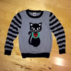 Beautees Other - Beauties Girls Cat Christmas Sweater