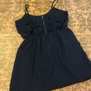 No Boundaries Dresses & Skirts - 💋Little Black Zipper Dress NWOT