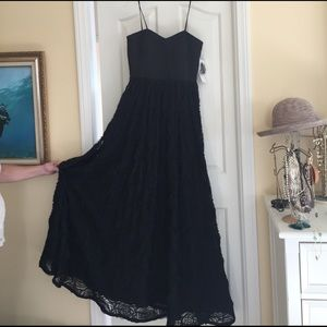 Adrianna Papell black ball gown size 10, NWT