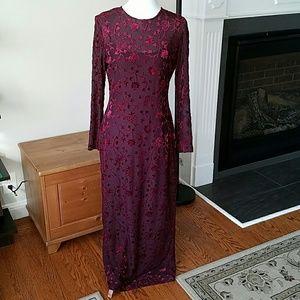 Laundry by Shelli Segal Dresses & Skirts - 🍃🌸Beautiful Velvet Print Dress by Laundry🌸🍃