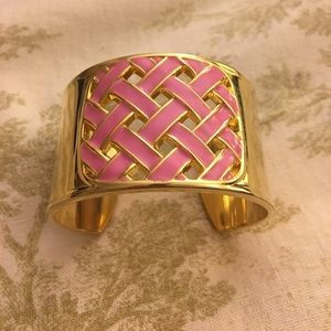 Lilly Pulitzer bracelet cuff