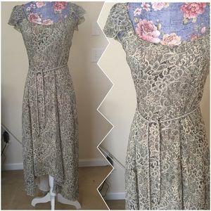 Badgley Mischka Dresses & Skirts - Beautiful light high low Badgley Mischka