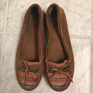 Minnetonka Shoes - Minnetonka Moccasins w/ limited edition design