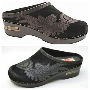 Lucky Brand Shoes - Lucky Brand Fable Leather Clogs