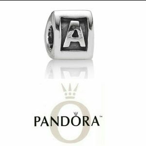 pandora letter a charm