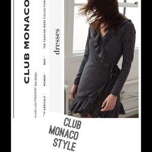 """Wrap Dress """"Club Monaco Style"""""""