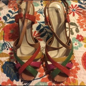 Nine West colorful heels