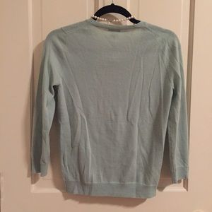 J. Crew Sweaters - Feminine JCrew Merino Wool Ruffled Cardigan