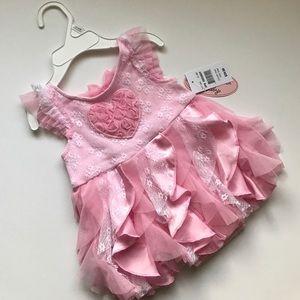 Little Lass Other - Pink dress