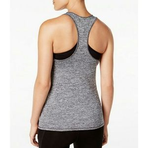 Macy's Tops - NEW Gray Yoga workout racerback tank top