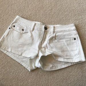 bp Pants - White Short Shorts