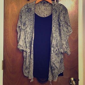 Winter Kate Jackets & Blazers - Winter Kate kimono shawl