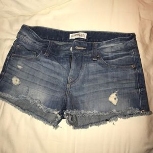 Express Pants - denim shorts