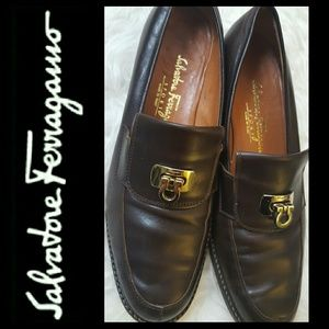 Ferragamo Shoes - Ferragamo Italy Leather Shoes