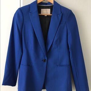 Electric Blue Blazer by Banana Republic