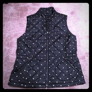 Polka Dot Vest - REDUCED FROM $50