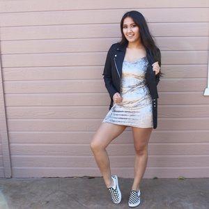 Boutique Dresses & Skirts - Velvet Bodycon Dress