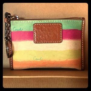 Coach Handbags - Authentic Coach Coin Purse w/ Key Ring