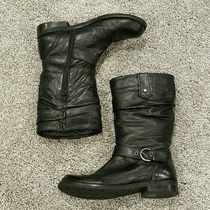 Report Shoes - Report Black Boots