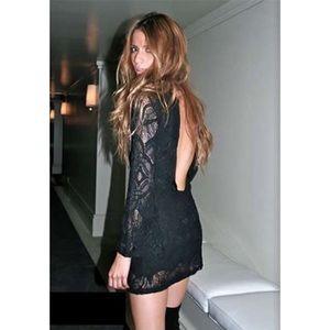 Nightcap Dresses & Skirts - Nightcap Long Sleeve Turtle Neck Dress
