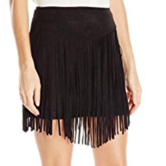 f3f080e82a NWOT Show Me Your Mumu Rancho Fringe Skirt. M 58a10dae3c6f9fa16802a032