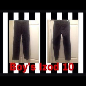 Izod Other - Boys iZoD Black Dress Pants ~ 10  ~ EUC