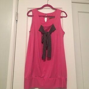 Karen Zambos Dresses & Skirts - Karen Zambos bow mini dress