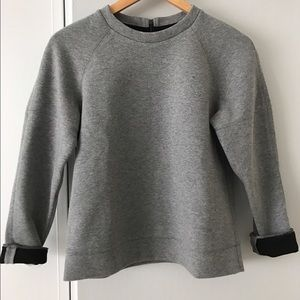 lou & grey crew neck with zippered back