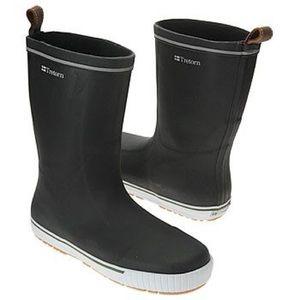 Tretorn Shoes - Tretorn Matte Black Rain Boots