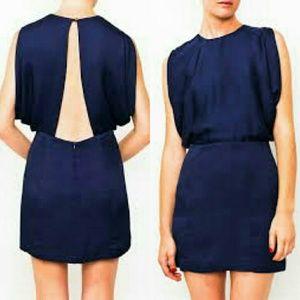 Wren Dresses & Skirts - Wren 100% silk Open Back Kimono Dress