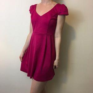 Amanda Uprichard Dresses & Skirts - NWT Amanda Uprichard Pink Cotton Skater Dress