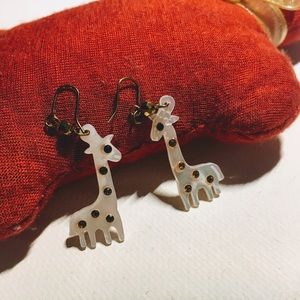 Jewelry - Small Giraffe Earrings