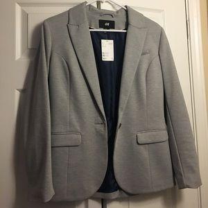 H&M gray blazer size 10