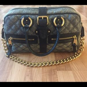 **Rare** Marc Jacobs snakeskin and ostrich bag