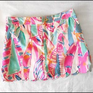 Lilly Pulitzer Dresses & Skirts - Colette Scallop Hem Skort
