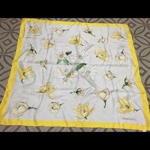 Tiffany & Co. Accessories - Tiffany & Co. silk scarf