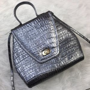 Vintage Crouch & Fitzgerald Silver Crossbody