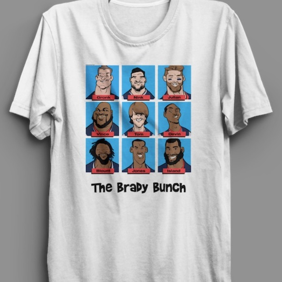 separation shoes 58a7b b2bd3 Boston Sports Apparel Other - 🏈 New England Patriots Brady Bunch T-Shirt