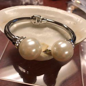 Jewelry - Bracelet Gold Plated Perl CZirconia