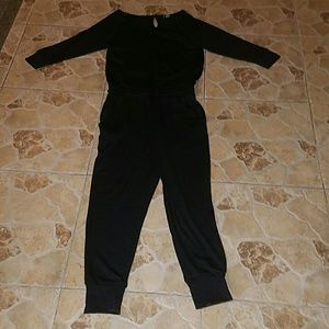 aerie Dresses & Skirts - Aerie brand solid black, long romper