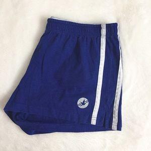 aerie Pants - Blue Aerie Workout Shorts