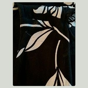 The Limited Dresses - The Limited 100%Silk Dress Black Gray Size 0