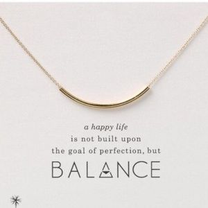 Dogeared Jewelry - Balance necklace in 14k gold fill