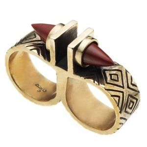 Pamela Love Jewelry - Pamela Love Paramount Double Finger Ring