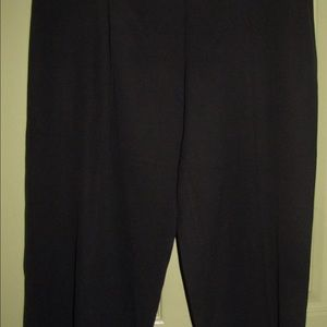 Tommy Bahama 100% Silk black pants size 12