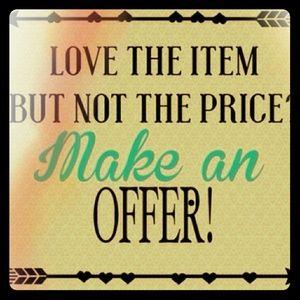 Make me offer !!!!