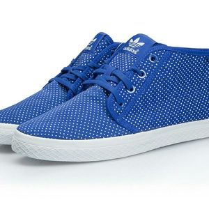Adidas Shoes - Adidas Blue Polky Dots Sneaker